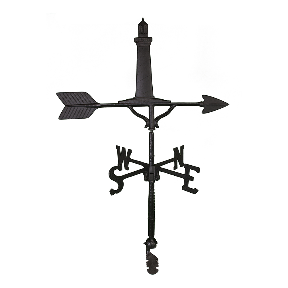 Cast Aluminum Cape Cod Lighthouse 32in Weathervane