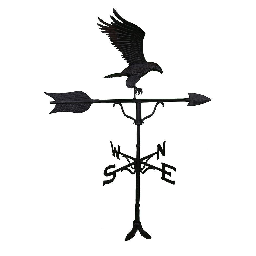 "Cast Aluminum Eagle 52"" Weathervane"