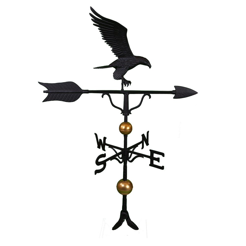 "Cast Aluminum Flight 52"" Weathervane - Deluxe"