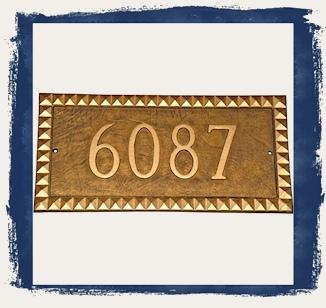 Cairo Address Plaques