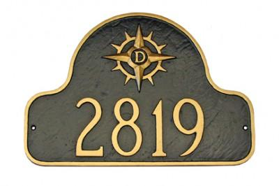 Custom Logo Address Plaque