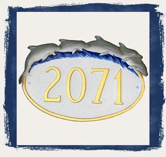 Dolphin Lovers Address Plaques