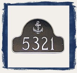 Aluminum Address Plaques