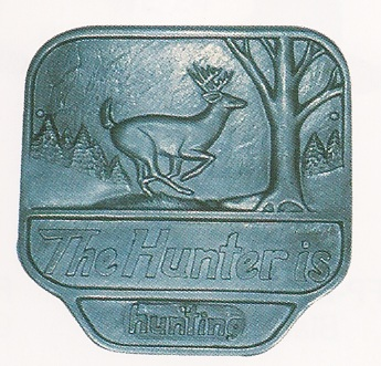 Hunter Wall Plaque