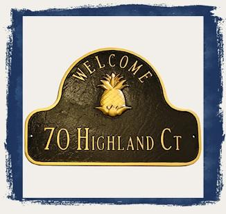 Welcome Address Plaques