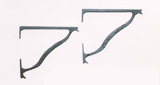 Cast Shelf Brackets